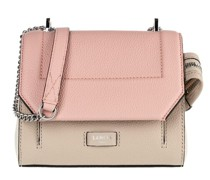 Crossbody Bags Ninon Grained Leather Flap Bag Small