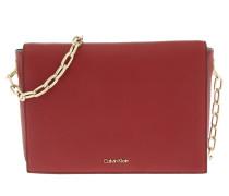 Night Out Medium Shoulder Bag Red Dahlia Umhängetasche