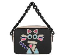 K/Plexi Umhängetasche Bag Black rosa