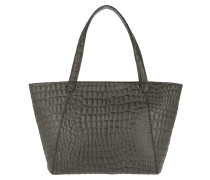Soho Shopping Bag Croco Rock Grey Tote