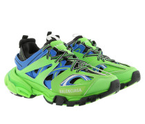 Sneakers Track Trainers Blue/Green