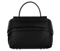 Shoulder Bag Wave Micro Gommini Dolce Mistic Black Umhängetasche