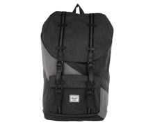 Rucksack Little America Backpack Black Crosshatch