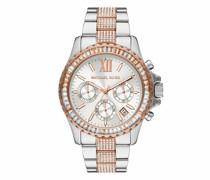 Uhr Women's Everest Chronograph Stainless Steel Watch