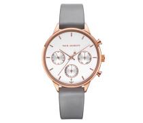 Uhr Watch Everpulse Line White Sand Strap Graphite Rosegold