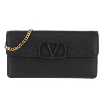 Umhängetasche V Crossbody Bag Black