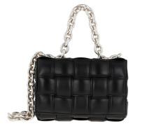 Umhängetasche The Chain Crossbody Bag Leather Blacksilver