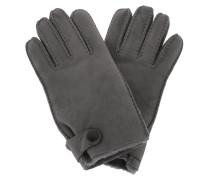 Handschuhe Men Sheepskin Side Tab Gloves Charcoal