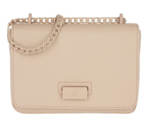 Lucy Mini Shoulder Bag Tan Brown Umhängetasche beige
