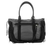 Tasche - Paula 1 Vintage Suede Fringes Black