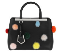 Petite 2Jours Bag With Pompon Black Tote
