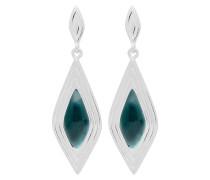 Ohrringe Earrings Calla-03-03 Marble Green