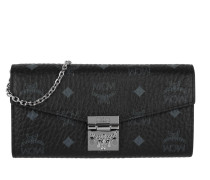 Patricia Visetos 2 Fold Wallet Black