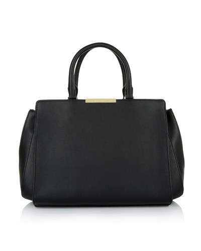 hugo boss damen boss tasche berlin top handle m black. Black Bedroom Furniture Sets. Home Design Ideas