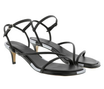 Sandalen Apica Sandals Leather Black