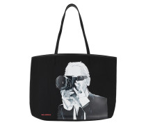 Shopper Legend Photographer Tote Bag Black
