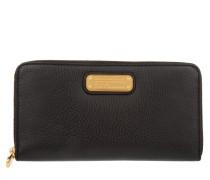 Kleinleder - Leather Zip Around Wallet Black