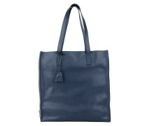 Tasche - Shopping Bag Soft Calf Bluette/AS