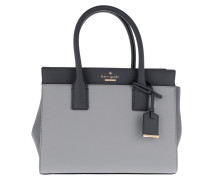 Small Candace Satchel Bag Steelgrey