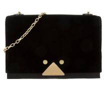 Tasche - Velvet Mini Sling Bag Crossbody Black