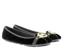 Loafers & Slippers - Fulton Quilted Suede Moccasin Black