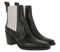 Boots Western Boot Belly Croc Black