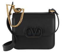Umhängetasche VSLING Mini Crossbody Bag Calfskin Black