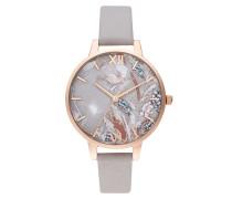 Uhr Watch Abstract Florals Violet