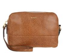 Cloe Shoulder Bag Small Bubble Cognac