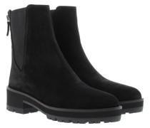 Boots & Booties - Patsy Crosta Chelsea Booties Negro