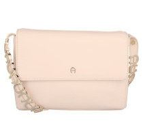 Abby Crossbody Pearl White