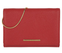 Delaney Clutch Tango Red rot