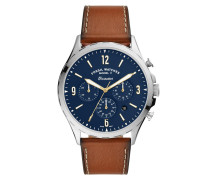 Uhr Men Forrester Chrono Watch Silver