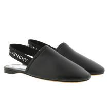 Schuhe Rivington Slipper Leather Black/Silver