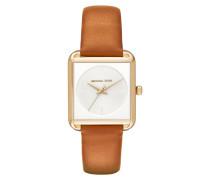 Armbanduhr - Ladies Lake Watch Gold-Tone Leather Brown