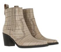 Boots & Stiefeletten Western Bootie Leather