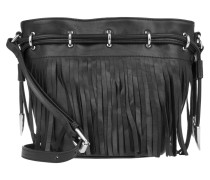 Tasche - Allegra Mini Drawstring Bucket Bag Turtle Black
