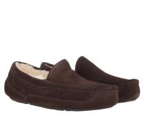 Schuhe Men Ascot Slipper Espresso