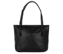 Heavy Stitch Hobo Bag oil black Tote