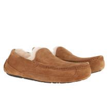 Schuhe Men Ascot Slipper Chestnut
