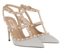 Rockstud Rolling Pumps Grey
