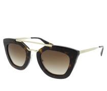 PR 0PR 09QS 49 2AU6S1 Sonnenbrille braun