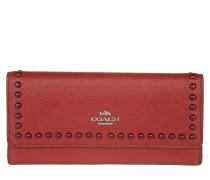 Kleinleder - Soft Leather Wallet Red Currant