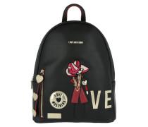 Backpack Love Nero Rucksack