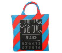 Tasche - Shopping Bag Print Denim