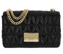 Sloan LG Chain Shoulder Bag Black Umhängetasche