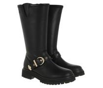Boots Linea Fondo Carroarmato Long Boot Black