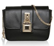 Tasche - Twistlock Chamois Crossbody Bag Black