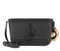 Umhängetasche Chain Midi Anchor Crossbody Bag Black