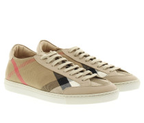 Sneakers - Sneaker Hartfields House Check Low Top Light Honey